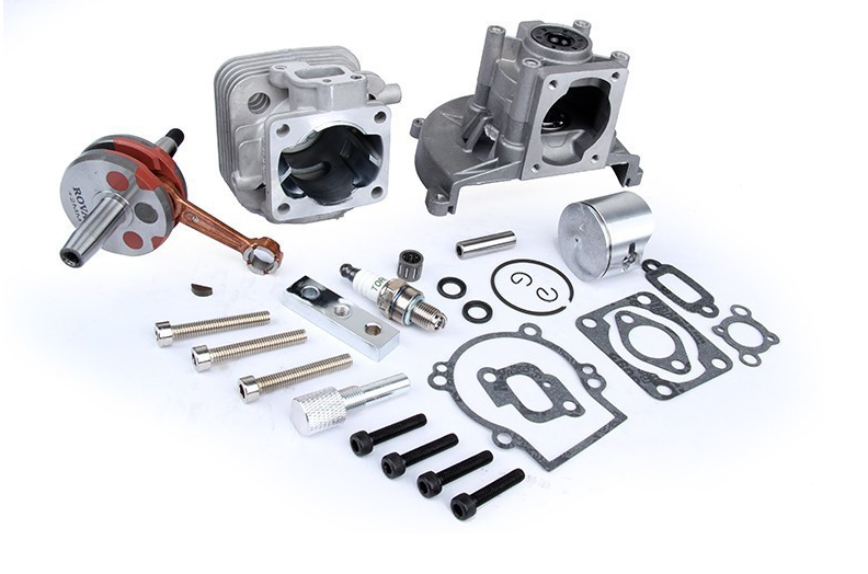 Engine parts,30.5cc upgrade cylinde kit, four bolt head for 1 5 rc car parts