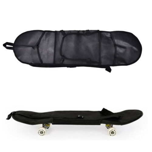 Outdoor Skateboard Carry Bag Longboard Deck Skate Board Backpack 8121cm ATAU