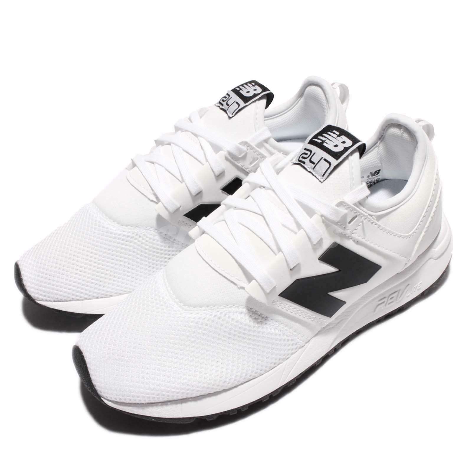 New Balance MRL247WB D BLack White Men Running Casual shoes Sneakers MRL247WBD