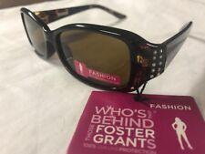 42f3b0cca0 Womens Fashion Sunglasses Foster Grant Sudden 100 UVA UVB Protection -