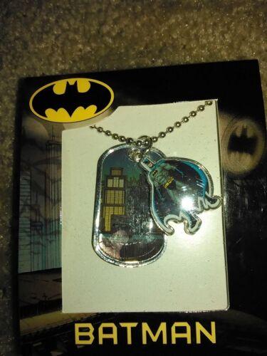 NEW!! Batman Double DogTag Necklace