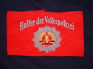DDR-Brazalete-Ayudante-el-Policia-Del-Pueblo-VP-Ayudante-sin-Estrenar