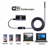 Wifi Wireless Cordless Waterproof Endoscope Inspection Camera For Iphone 7 6s 5+