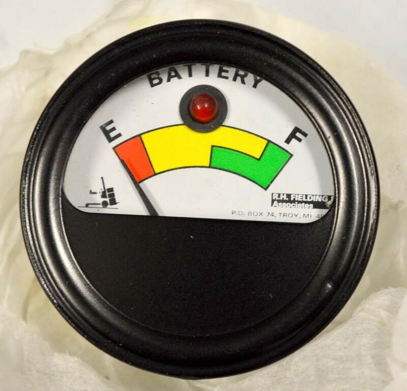 Indicator for Battery Condition for Lift Truck and more. Vintage unit with no pa