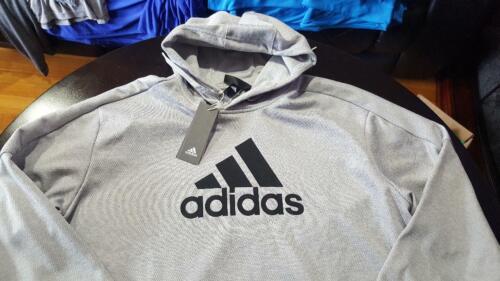 adidas Men's Athletics Team Issue Pullover Hoodie Big Logo DH9014-9017-9018 NWT