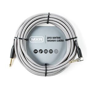 Dunlop MXR DCIS20R Guitar Instrument Cable Right Angle 20 ft foot