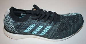 super popular d8d28 49a16 Details about ADIDAS Gray Turquoise UltraBoost Parley Running Shoes Mens US  11 NIB NEW