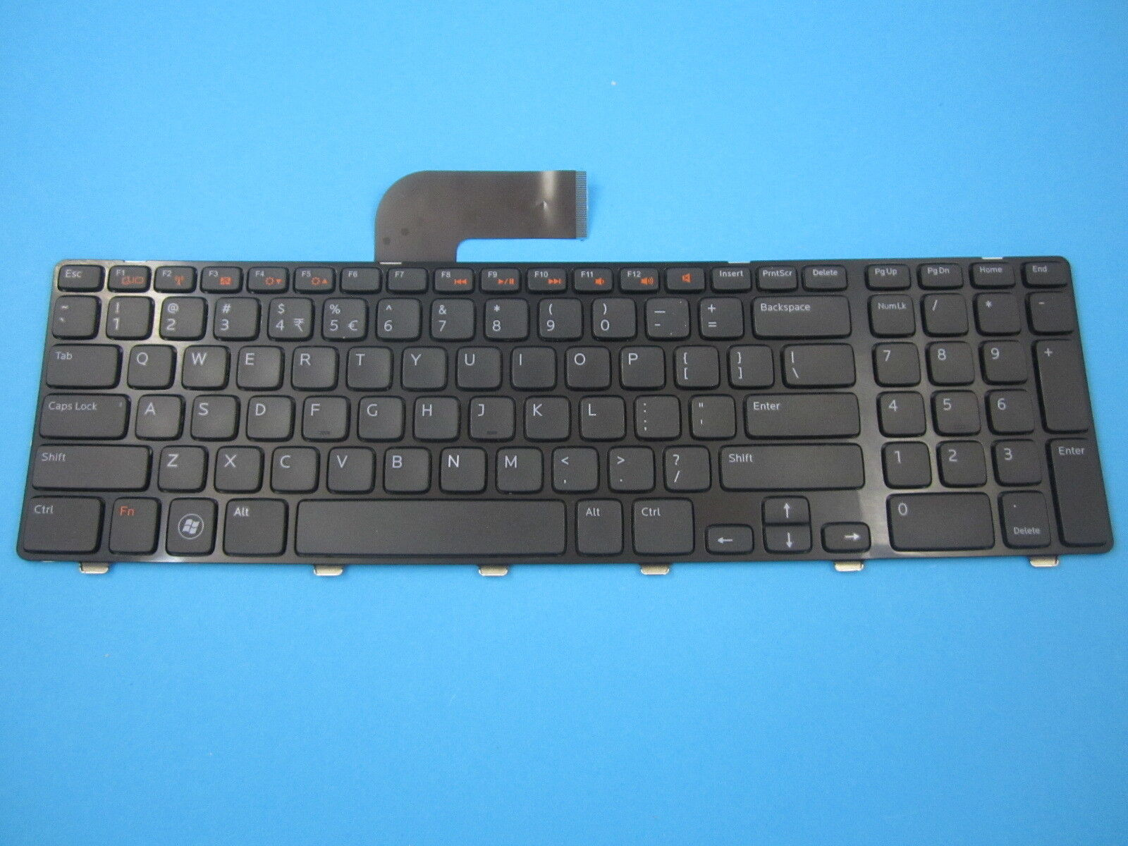 Genuine Dell Inspiron Us English Keyboard 0c6ptw C6ptw Ebay