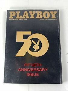 PlayBoy-50th-Anniversary-Issue-January-2004-Magazine-Collectors-Edition