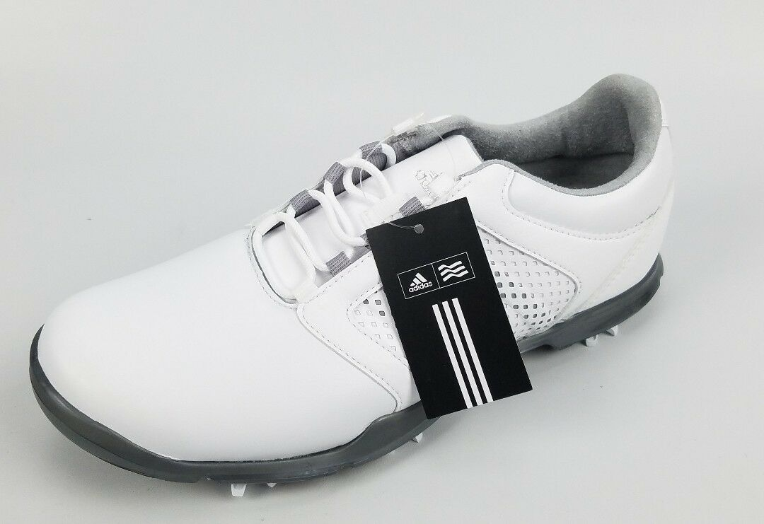 Adidas Donna W Adipure Tour Ftwwht/LTO Golf Shoes Size Size Size 6 White e3f95d