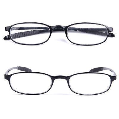 Unisex Black TR90 Frame Reading Glasses 1.0 1.5 +2.0 +2.5 Reader Eyeglasses New