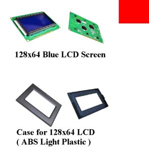 128x64 DOT LCD 5V blue screen display 12864 backlight ST7920 f Arduino Raspberry