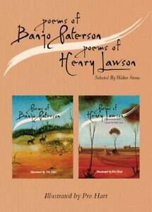 NEW-Poems-of-Banjo-Paterson-and-Henry-Lawson-Boxset-By-A-B-Patterson-Hardback