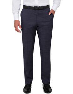 NEW-Van-Heusen-Euro-Suit-Trouser-Navy