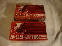 Old School Bmx Two 20x2.125 Thorn Troof Tubes Mongoose