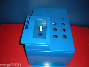 HOFFMAN-ENCLOSURES-LHC353020-BOX-TYPE-4-HINGED-COVER-11-HOLES-NICE-CLEAN