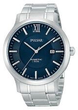 PAR183X1 NEW Pulsar Mens Kinetic Stainless Steel Bracelet Watch
