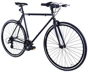 Golden-Cycles-Velo-Revo-Shift-7-speed-Bicycle-Bike-Black-41-45-48-52-55-59-62-CM