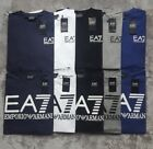 EMPORIO ARMANI EA7 MENS LONG SLEEVE CREW NECK T-SHIRT T  CUSTOM FIT  S M L XL