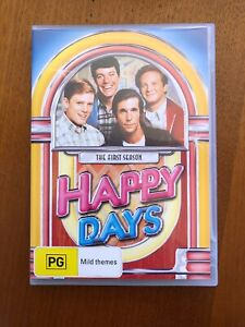 Happy-Days-The-First-Season-PG-DVD-Pal-Free-Postage-Oz-Seller