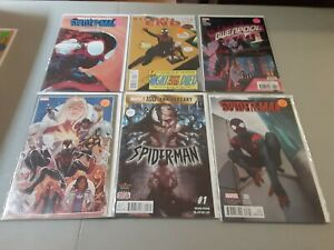 Miles Morales Spider-Man Comic Lot Of 6, Venom 10 ...