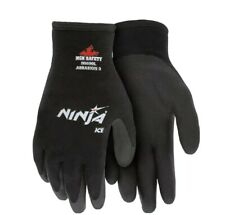 Mcr Memphis Ninja Ice Insulated Cold Winter Weather Safety Work Gloves Sizel