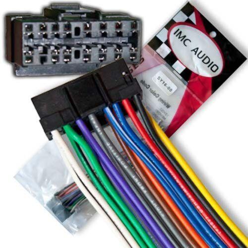 Sony Wire Harness CDXGT33W CDXGT640UI CDXGT720 CDXGT710 CDXGT71W CDXGT620IP