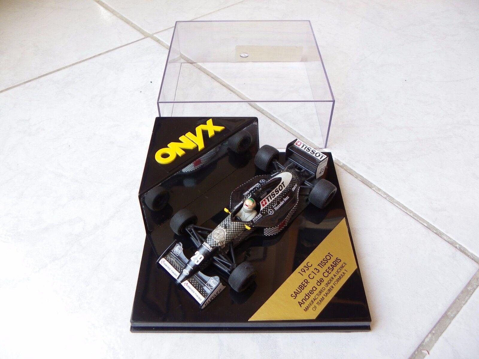 Sauber Mercedes C13 Tissot Andrea Der Cesaris Onyx 193 1 43 1994 F1 Formel 1