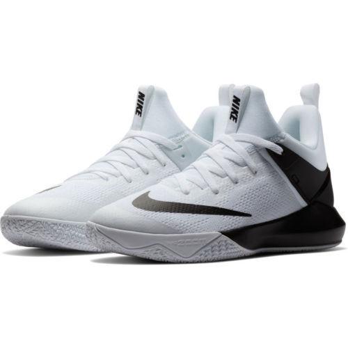 Nike Zoom Shift TB Mens, White/Black, Sz-10-13