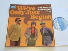 MONTY ALEXANDER We´ve only just Begun Crystal Muster/Promo.Unplayed Vinyl: mint