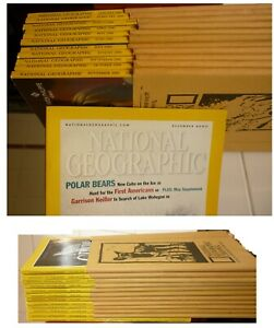 National-Geographic-annata-2000-completa-American-Edition-Perfect-conditions