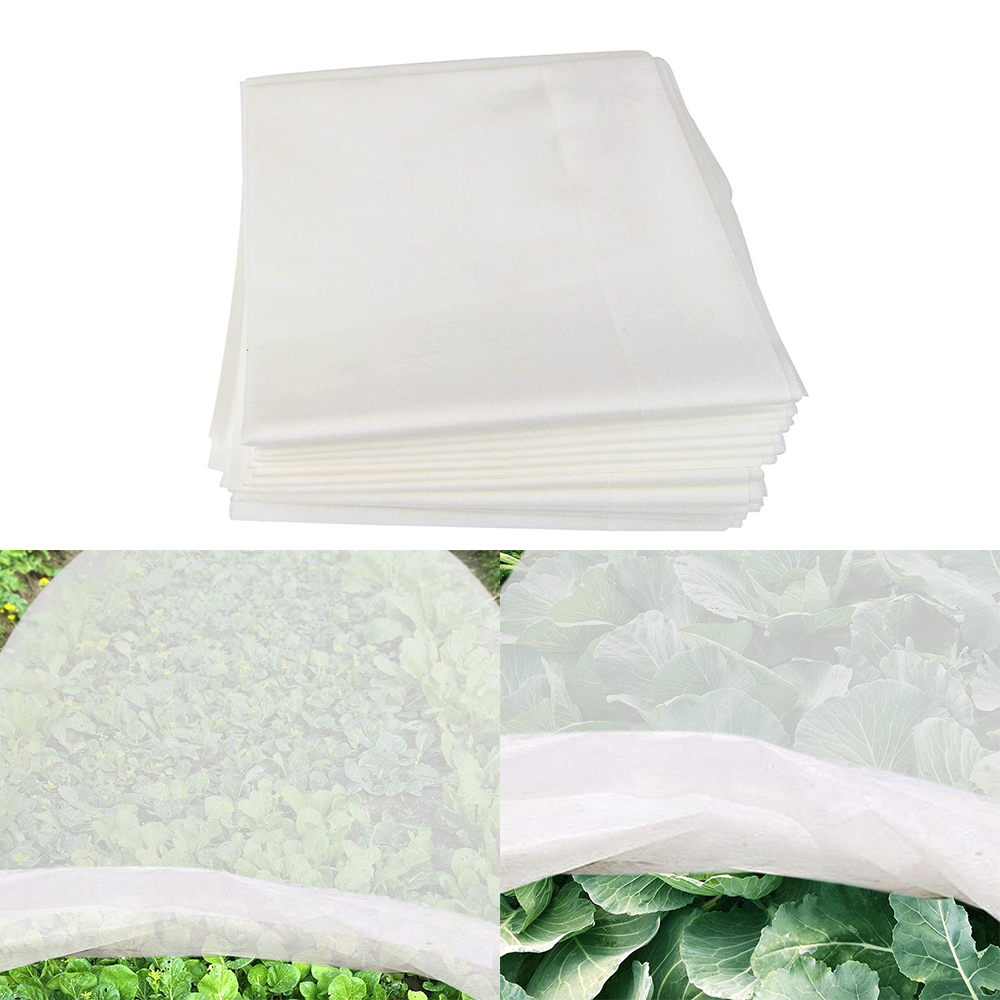 Frost Plant Protection Cover Non-Woven Fabric Winter Plants Antifreeze Blanket