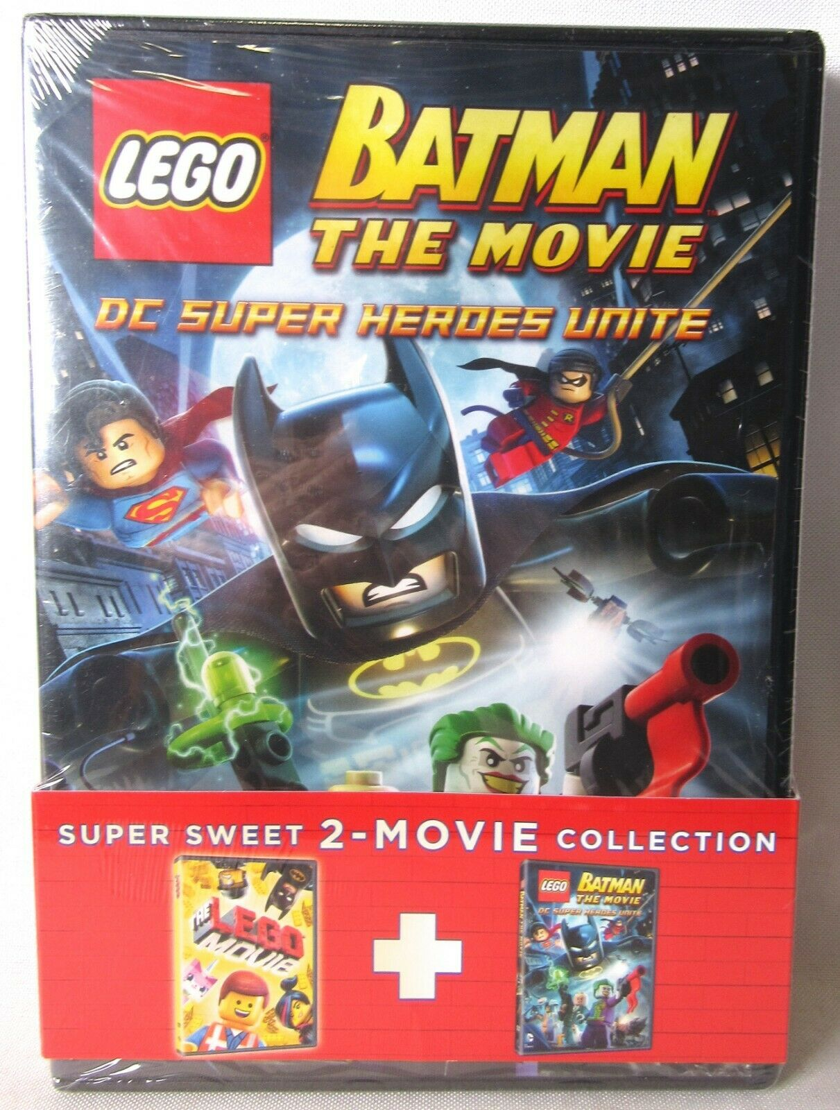 The Lego Movie Lego Batman The Movie Dvd 2015 2 Disc Set New For Sale Online