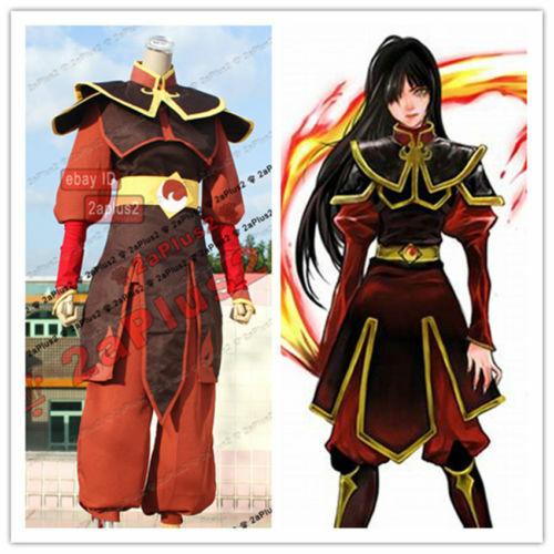 Avatar The Legend of Korra Cosplay Costume Azula Fire Nation Princess