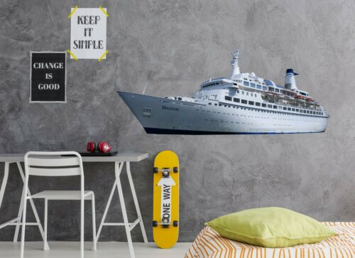 Details about  /3D Luxury Yacht C145 Car Wallpaper Wall Mural Poster Transport Wall Stickers Wend show original title