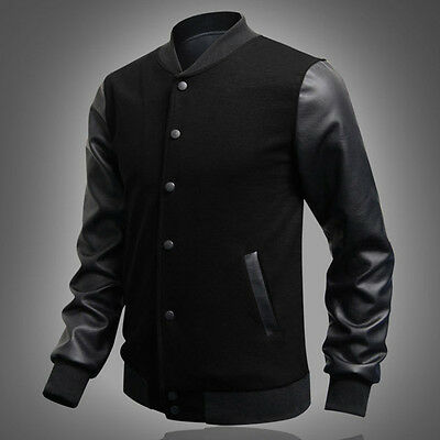 US Stock Korean Trend Mens Auntumn Warm Stylish & Slim Fit jacket Outerwear Tops