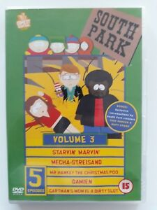 SOUTH PARK - SERIES 1 - VOLUME 3 / SINGLE DVD / REGIONS 2, 3, 4, 5 & 6