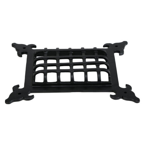 Cast Iron Classic Black Speakeasy Grill /& Grille Viewing Door By Perilla Home