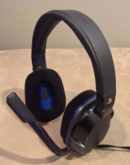 PDP Afterglow LVL 3 Stereo Wired Gaming Headset for PS4 - Tested - LIKE NEW