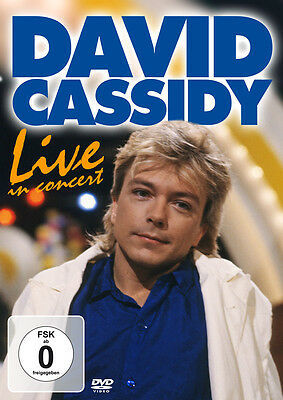 DVD David Cassidy Live In Concert