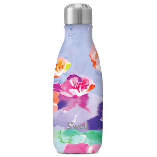 Swell Bottles 9oz Lilac Posy Womens Accessory Flask Multi One Size