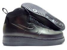 new styles e9cd7 a1098 Mens Nike Air Force 1 Foamposite Cup Ah6771 001 Triple Black High Strap 9.5