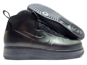 best sneakers 9523b c5d9a Image is loading NIKE-AIR-FORCE-1-FOAMPOSITE-CUP-TRIPLE-BLACK-