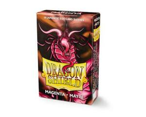 Japanese Matte Magenta Case Display Dragon Shield Sleeves - 10x 60 ct Packs
