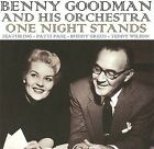 One Night Stands by Benny Goodman/Benny Goodman & His Orchestra (CD, Oct-2009, Sounds of Yesteryear)