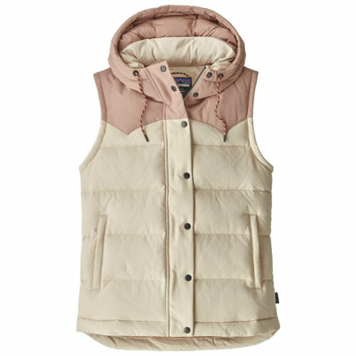 Patagonia womens bivy hooded Vest robusta daunenweste señora capucha 2 bolsillos