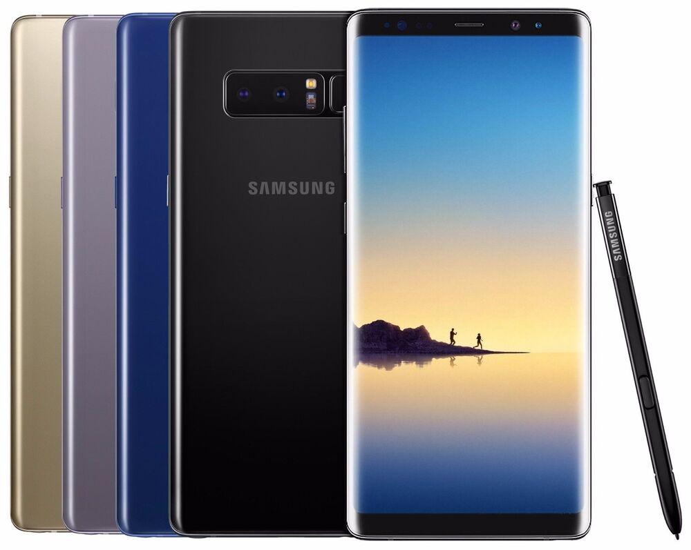 Samsung Galaxy Note 8 SM-N950U 64GB Unlocked AT&T T-Mobile MetroPCs Smartphone