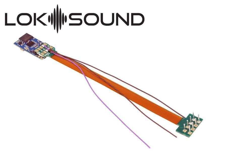 ESU 58810 Loksuono v5.0 Micro  N, TT, h0 ALTOP. 11x15mm desiderio suono Merce Nuova  contatore genuino