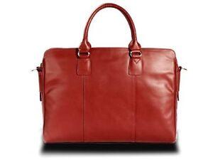 Visconti 15030 Womens Leather Shoulder Messenger Handbag Bag Satchel Red