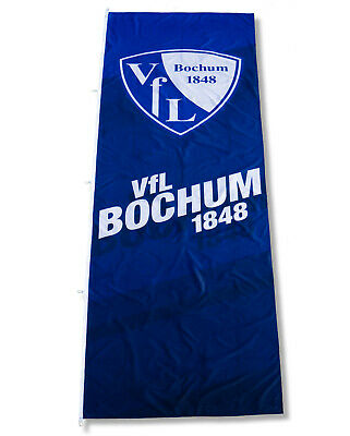 40x60cm blau//weiß Wappen VFL Bochum 1848 Fahne Stockfahne Flagge Stockflagge